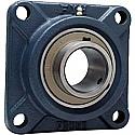 2 3/4 4-BOLT HD FLANGE BLOCK W/SET SCREWS